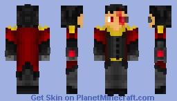 Crimson Admiral Aqua@2 [Halloween 2021] Minecraft Skin