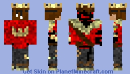 TheKing Minecraft Skin