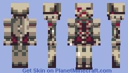 Zombie Officer Minecraft Skin
