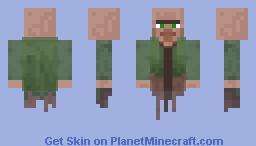 Nitwit Ghost Minecraft Skin