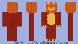 "Scary Dino #2 ""Jack o' lantern"" Minecraft Skin"