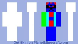 hello Minecraft Skin