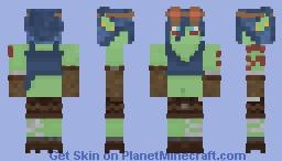 -=Orc Miner=- Minecraft Skin