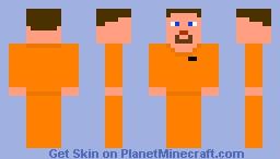 Person in jail Minecraft Skin