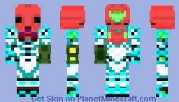 Metroid Dread Power Suit Minecraft Skin