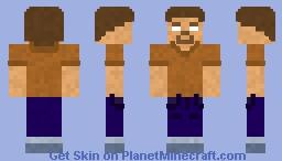 Herobrian Minecraft Skin