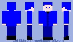 Classic YSG (MCC Blue Edition) Minecraft Skin