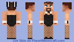 Playboy Bunny Hbomb Minecraft Skin