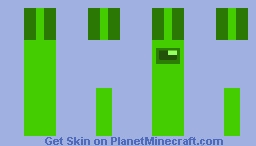 As Green As It Can Be (CHRISTMAS AMONG US GREEN) Minecraft Skin