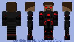 Virus Steve without a helmet Minecraft Skin