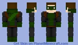 Green Arrow(Earth 95) Minecraft Skin