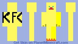 Chick                  KFC Minecraft Skin
