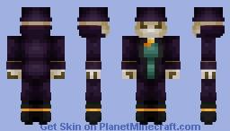 Undead Magician Minecraft Skin