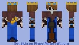 Skeleton King Minecraft Skin