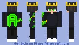 (Green) cute ali_2500 -w- Minecraft Skin