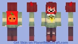 Halloween Chara! Minecraft Skin