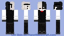 kaneki normal Minecraft Skin