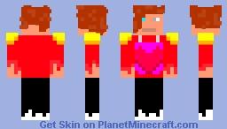Lily - My 1st skin :) Minecraft Skin