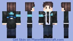 Connor (Detroit: Become Human) [Steve Model] Minecraft Skin