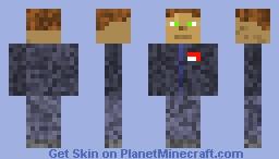 brotherhood of blood soldier hair:brown eye:green skin:white Minecraft Skin