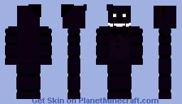 FNAF 2 : Shadow Freddy Minecraft Skin