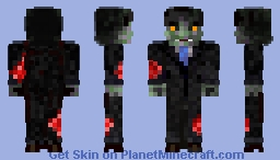 Zombie (bad day at the office dear?.) Minecraft Skin