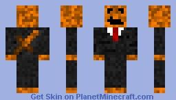 pumkin skin Minecraft Skin
