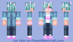 Pink life Dangthatsalongname Minecraft Skin