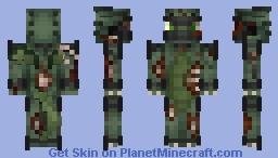Zombie Dragon Minecraft Skin