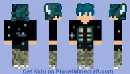 Shulk Person Minecraft Skin