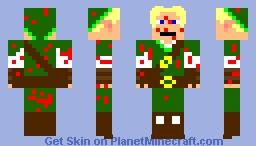 link (blood splader) Minecraft Skin