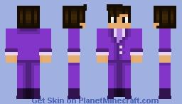 twtitch.tv/JHartLive business suit edition Minecraft Skin