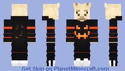 Halloween Alpaca Minecraft Skin
