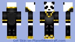 Rich Panda Minecraft Skin