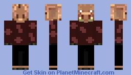 Day 21 The Nether Minecraft Skin