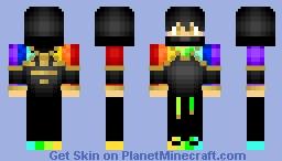 RainbowNinjaSZ Minecraft Skin