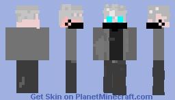Anime boy mask Minecraft Skin