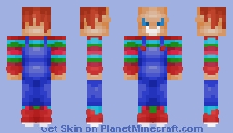 Chucky Minecraft Skin