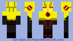 Reverse Flash (Eobard Thawne) CW Minecraft Skin