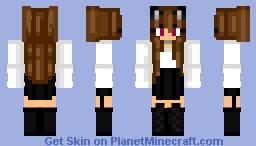neko girly Minecraft Skin