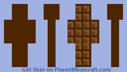 Chocolate Minecraft Skin