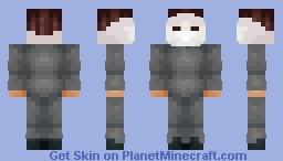 Michael Myers Minecraft Skin