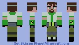 Ben 10,000 | OV Minecraft Skin