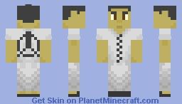 The Fluoridated Man (SCP-1862) Minecraft Skin