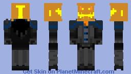 Pumpkin Rider (headless horseman) Minecraft Skin