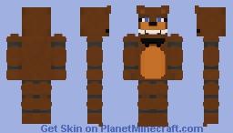 FNAF 1 : Freddy Fazbear Minecraft Skin