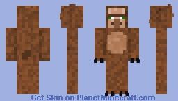 Wereager (werewolf+villager) Minecraft Skin