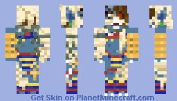 Angry Mummy Minecraft Skin