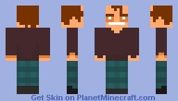 Jack Torrance/Jack Nicholson Vindicator Themed Skin Minecraft Skin