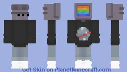 Aesthetic TV Minecraft Skin